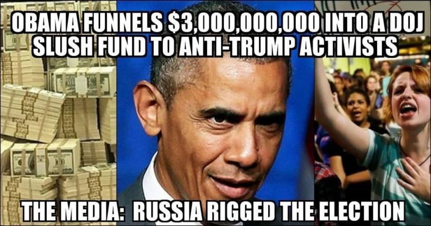 obama-funnels-3-billion-to-doj-slush-fund-to-anti-trump-activists-marxists-media-russia-rigged-election