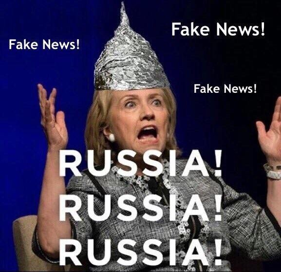 russia conspiracy fake news