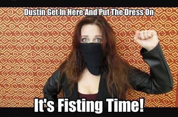 antifa fascist fisting time lgbt gender