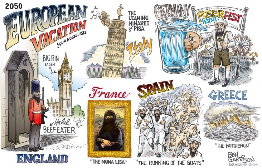europe 2050 islamified merkel refugees