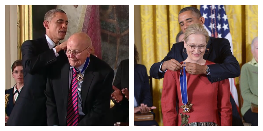 dingell gets award from obama