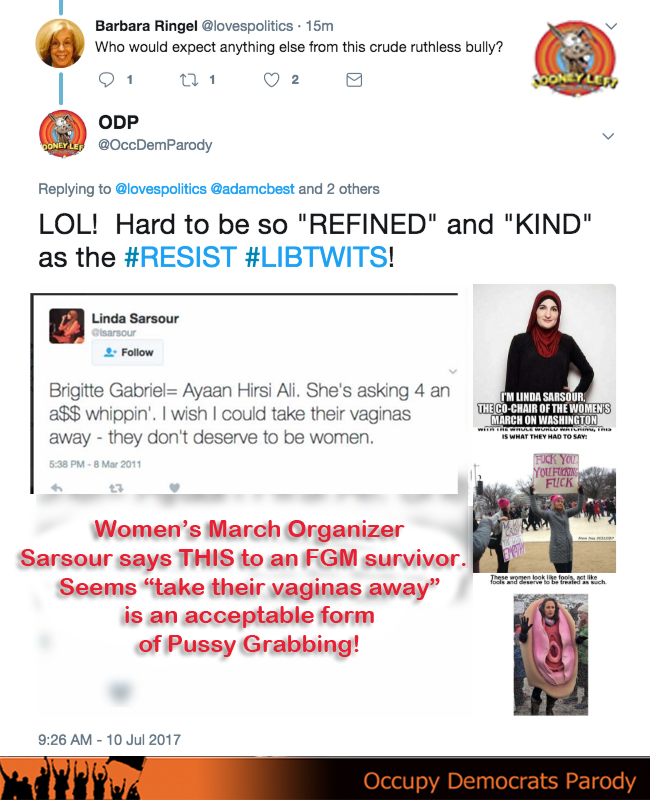 refind and kind resist libtwit sarsour