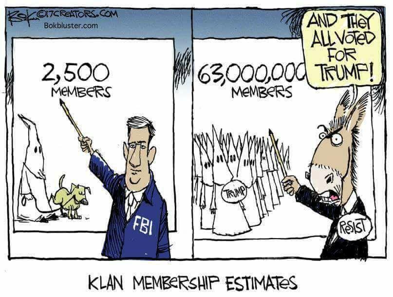 cnn lies kkk members