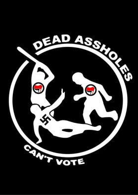 violentdems dead assholes cant vote fascist
