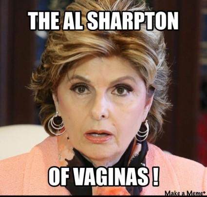gloria allred lisa bloom al sharpton of vaginas