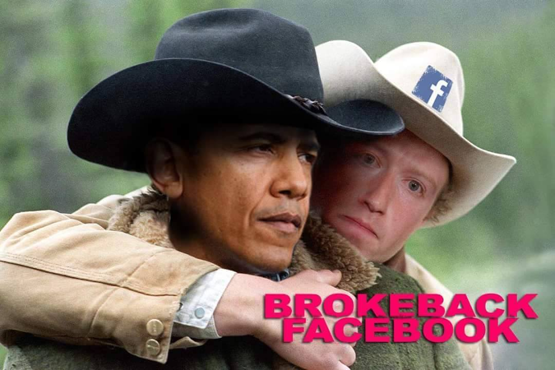 ZuckFace and Twitler Aren't Shy About Taking Sides