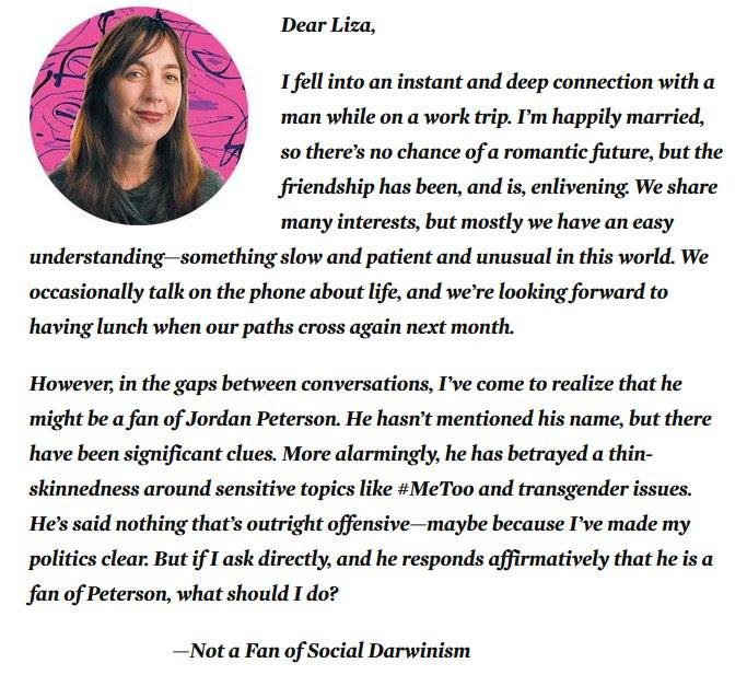 JORDANPETERSON feminist happily married libtwit