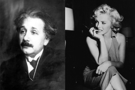 brains and beauty einstein maralyn