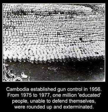 cambodia gun control mass murder pol pot
