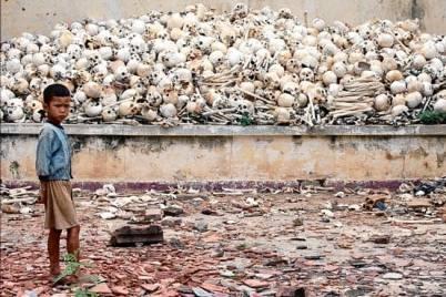 cambodia kid corpses mass murder