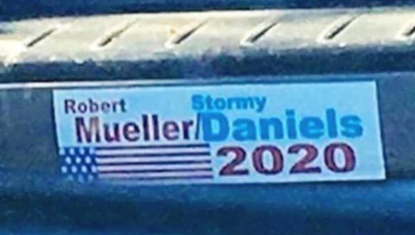 heroes of the left stormy daniels mueller 2020 bumper sticker libtardmemes