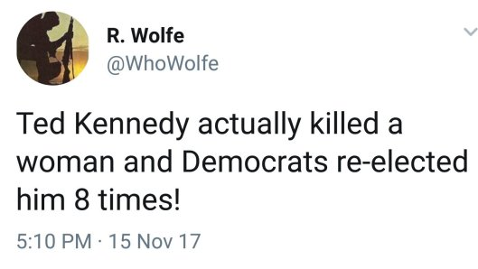 kennedy killed woman democrats reelected 8 times double standard hypocrisy rape