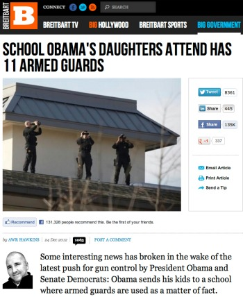 obama daughter school 11 armed guards