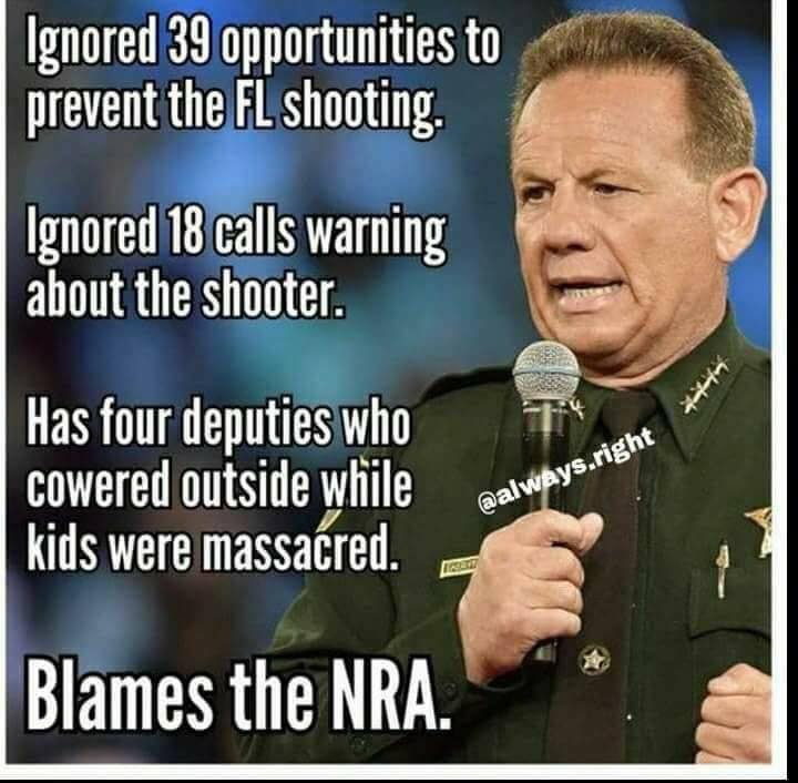 scott israel coward of broward gun control