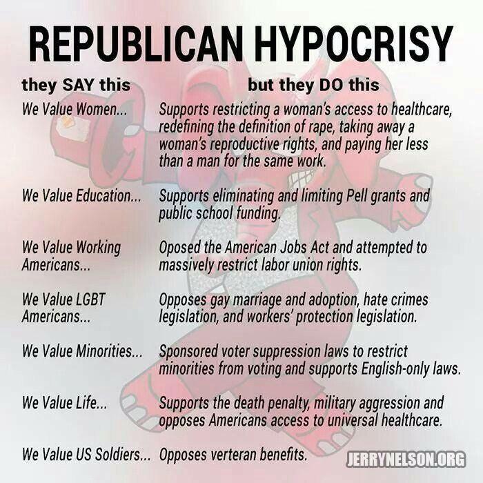 lyon republican hypocrisy ultimate libtardmeme