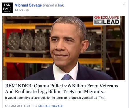 obama pulled billions from veterans and reallocated to syrian migrants Screen Shot 2016-02-14 at 11.44.10 PM