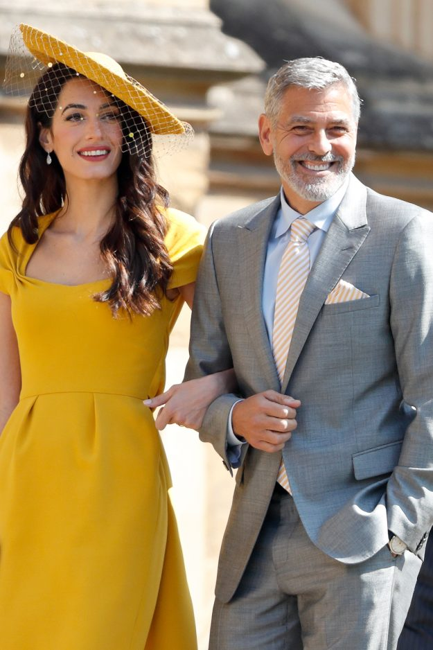 clooney at royal wedding harry