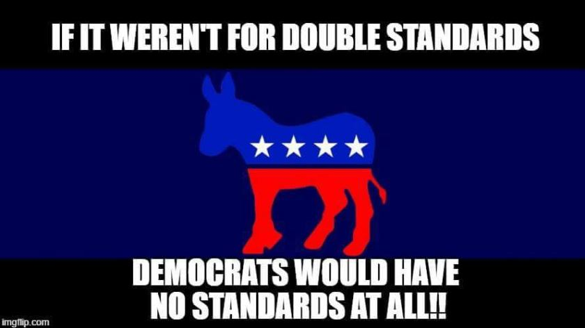 double standards democrats