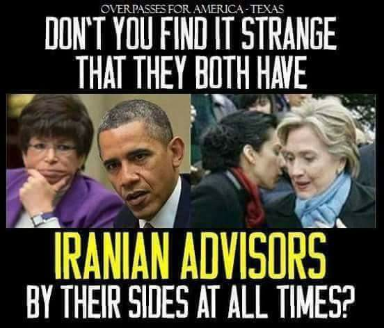 iranian advisors iran deal obama jarret hillary huma