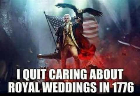 royal weddings stopped caring 1776