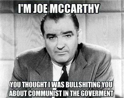 Joe McCarthy Fully Vindicated