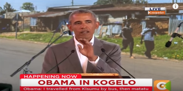 "Obama: ""First Sitting American President to Come from Kenya"""