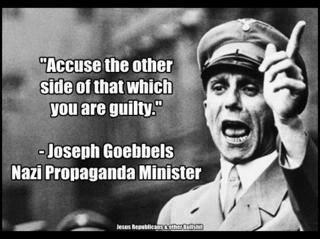 projecting propaganda