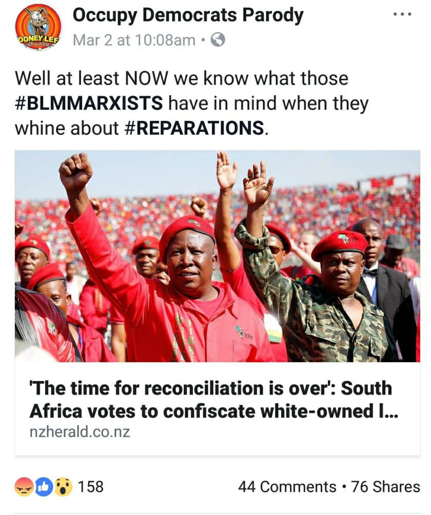 reparations south africa