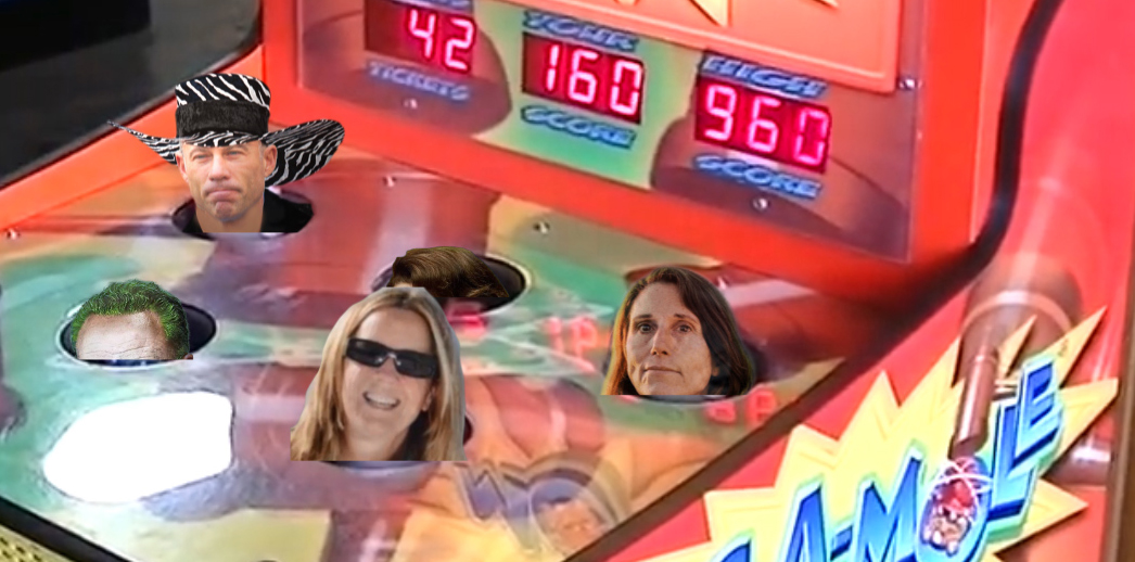 Democrat Games: Accusation Whac-A-Mole!