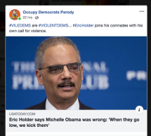 holder calls for violence incivility violentdems unhinged Screen Shot 2018-10-11 at 4.10.27 PM