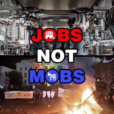 jobs not mobs violentdems