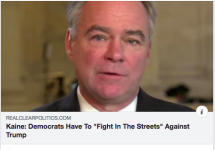 violentdems kaine joins hillary calls for incivility street fights endorsement antifa partyofcrimeScreen Shot 2018-10-15 at 3.51.18 PM