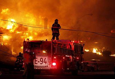 san bruno fire 2 firetruck