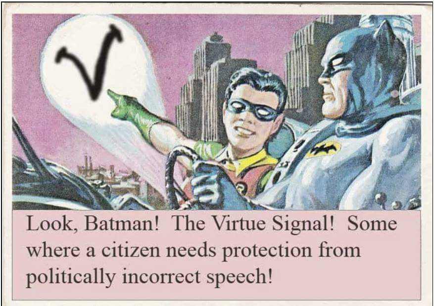 virtue signal trigger snowflake pc batman robin 1520273458748