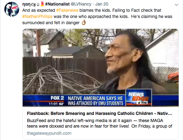 Reckless Media Exploits Nathan Phillips Hoax to Defame and Endanger Children