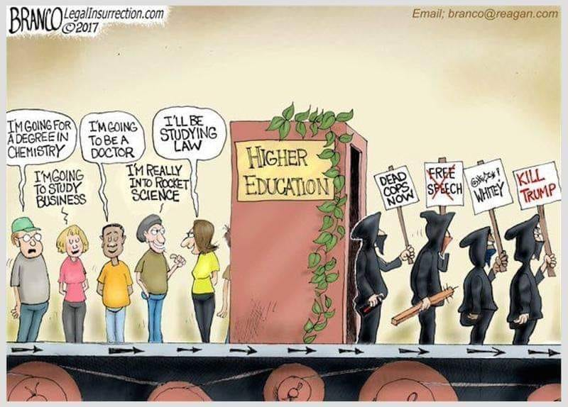 "Indoctrination: The New ""Higher Learning"""
