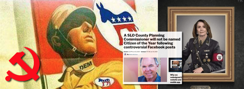 "Cancel Culture: Dems Validate ""Citizen of Year's"" Posts by Proving Themselves Nazis."