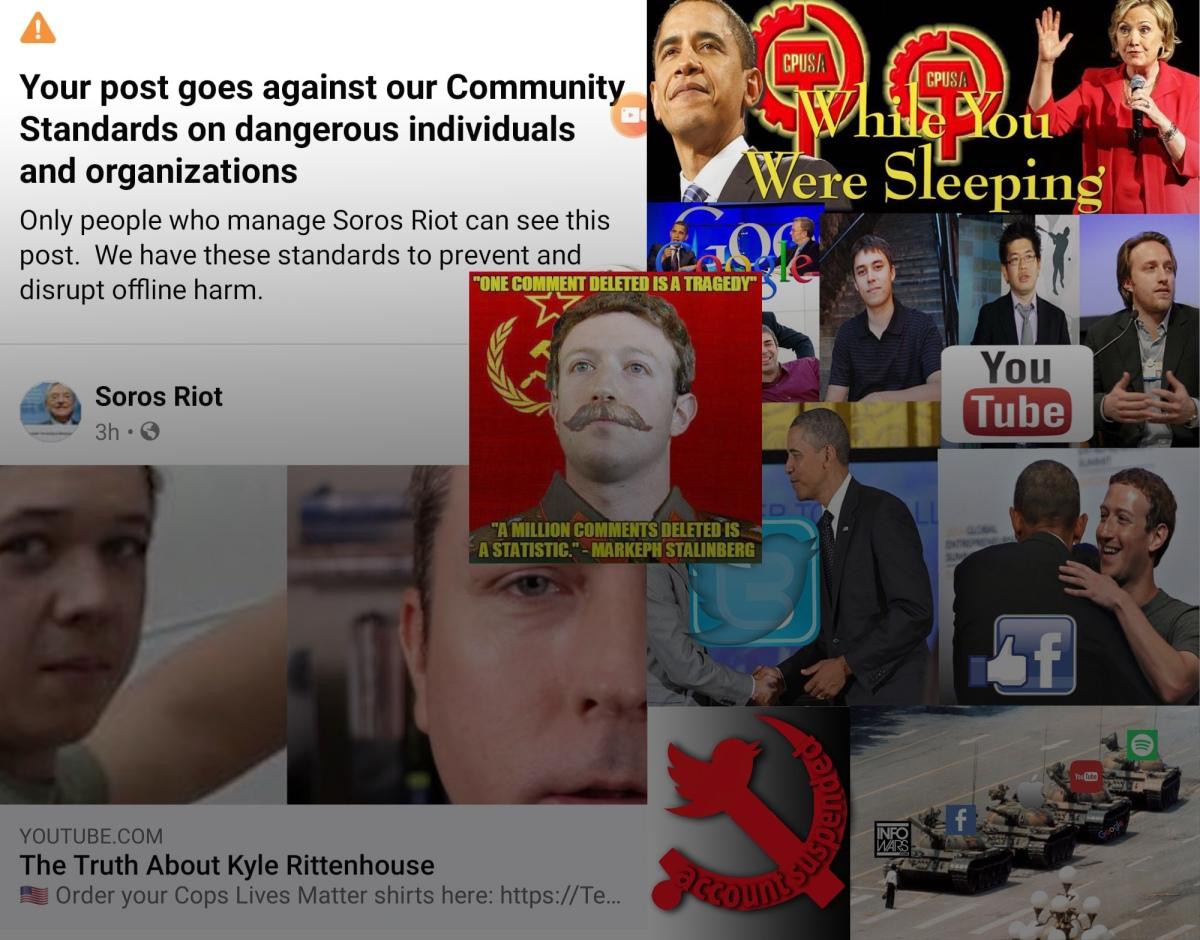 FB Communist Standards Marks Dice Video asViolation