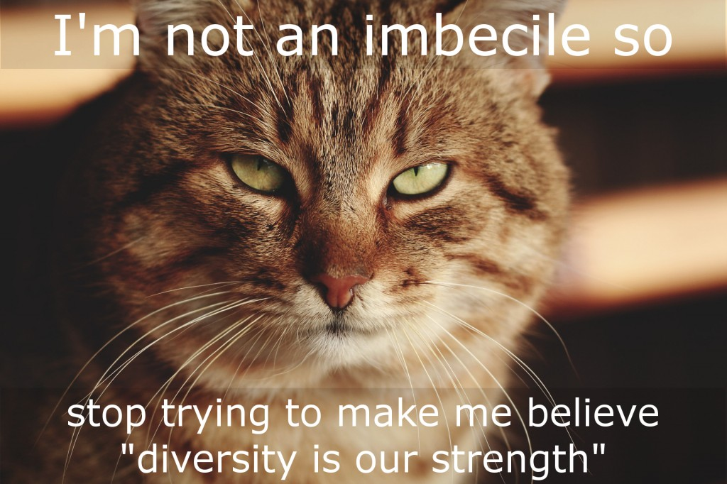 Diversity is a Vulnerability, Communists Know it, and That's Why They ExploitIt!