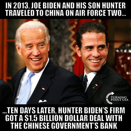 Audio: On Nefarious Hunter and Joe Biden China Dealings