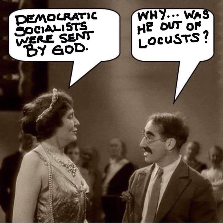 Democrats are Locusts