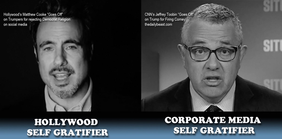 """Swamp Hollywood: Unmasking Matthew Cooke!  The Embodiment of Leftist """"Thought."""""""