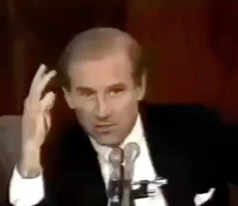Biden's Prophetic Remarks